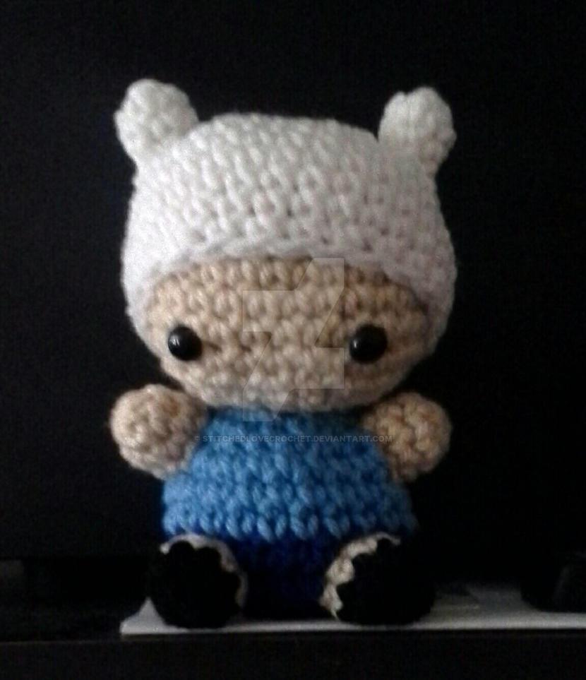 Amigurumi Human : Finn the Human - Adventure Time Crochet Amigurumi by ...