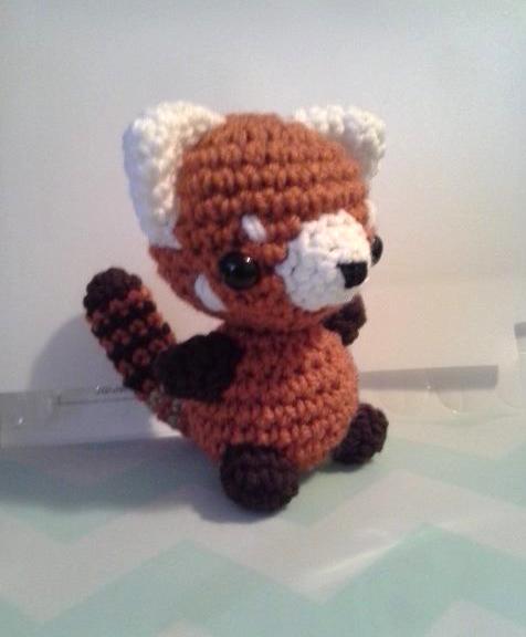 Red Panda Amigurumi Crochet by StitchedLoveCrochet on ...
