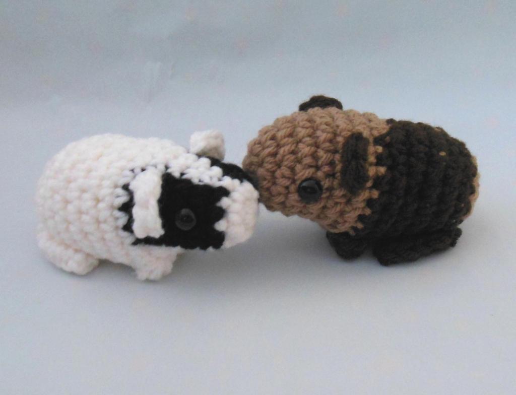 Amigurumi Baby Guinea Pig : Baby Guinea Pigs Amigurumi by npierce122 on DeviantArt