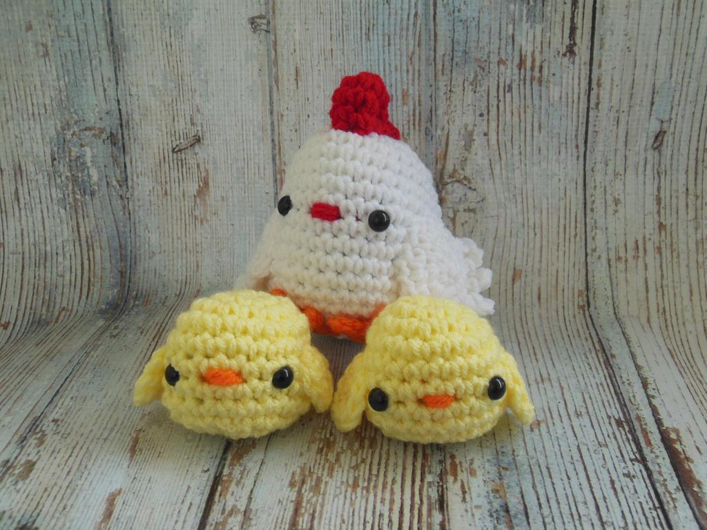 Little Chickens Crochet Amigurumi by StitchedLoveCrochet ...