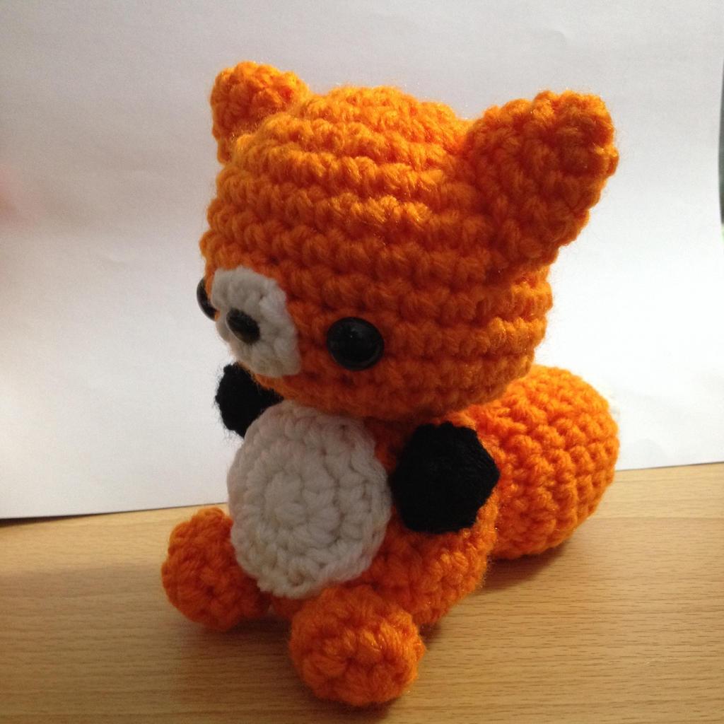 Baby Amigurumi Crochet : Crochet Amigurumi Fox - Baby Kitsune by ...