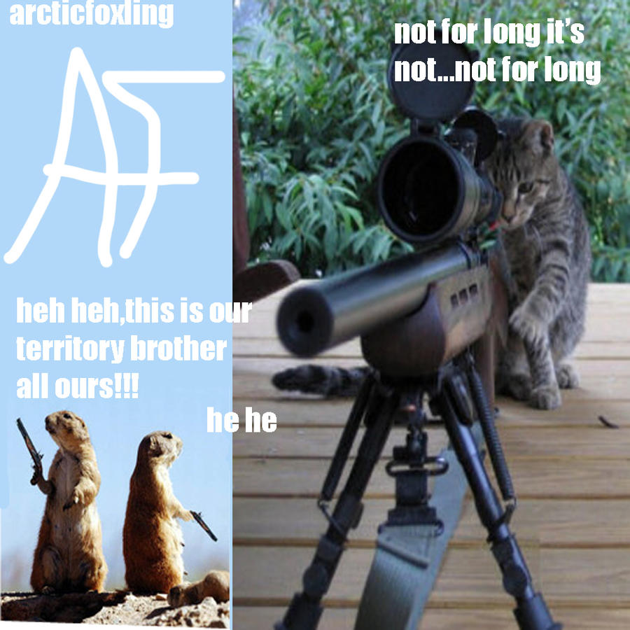 Animals with guns by arcticfoxling on deviantart - Pictures of funny animals with guns ...