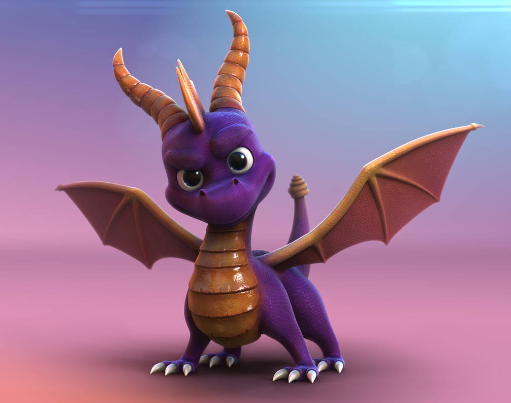 Old Video Games - Spyro The dragon