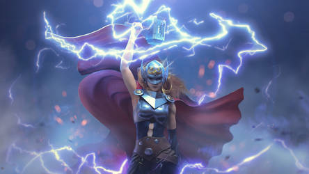 Allmighty Thor #3