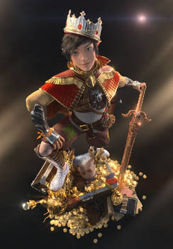 Endymion, The Prince - Render A