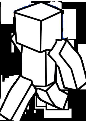 Minecraft blank skin base 2 by ChillaxTheEchidna on DeviantArt