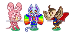 ANIMAL CROSSING ADOPTS [1/3 OPEN] by DlGlTALDRUGS