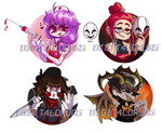 FRIDAY THE 13TH BUSTS [4/4 OPEN] by DlGlTALDRUGS