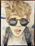 V/  Taehyung BTS (Art trade)