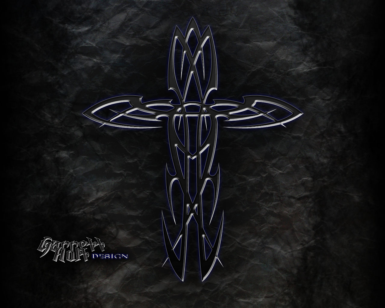 tribal cross wallpaper by - photo #2