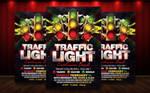 Traffic Light Flyer Template by MatteoGianfreda94