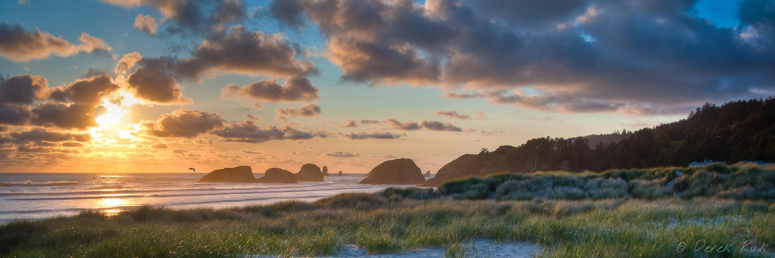 Sunset in Oregon by vazagothic