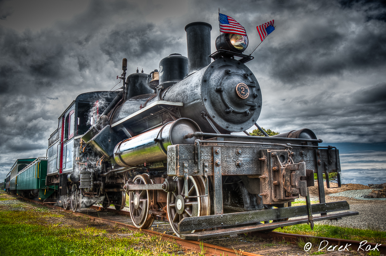 OCSR Train in HDR by vazagothic