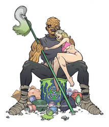 Toxie Pinup
