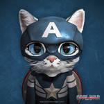 Captain American Short Hair