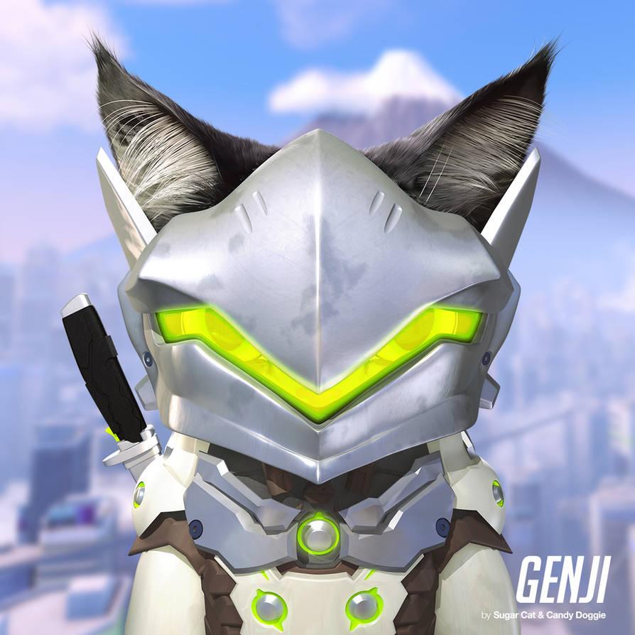 Genji cat by sugarcat-candydoggie