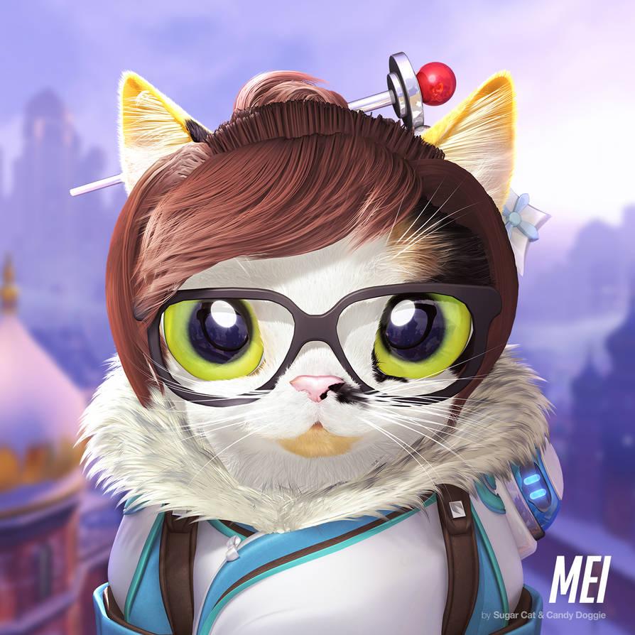 Mei cat by sugarcat-candydoggie