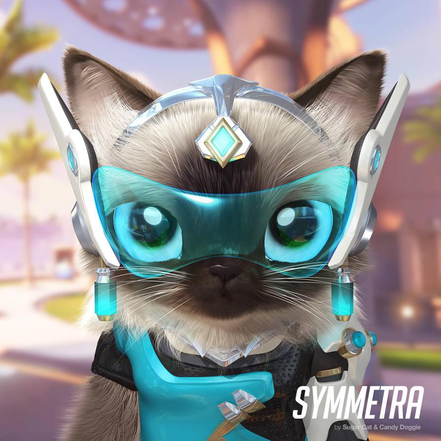 Symmetra cat by sugarcat-candydoggie