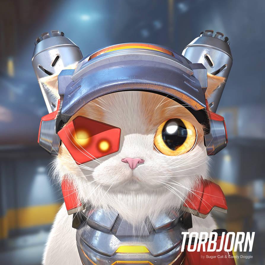 Torbjorn cat by sugarcat-candydoggie