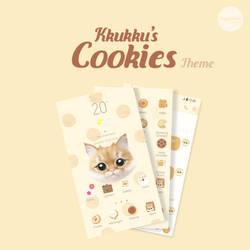 Kkukku's Cookies Theme