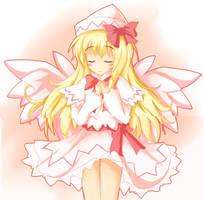 Touhou  - Lily White by kano-bi