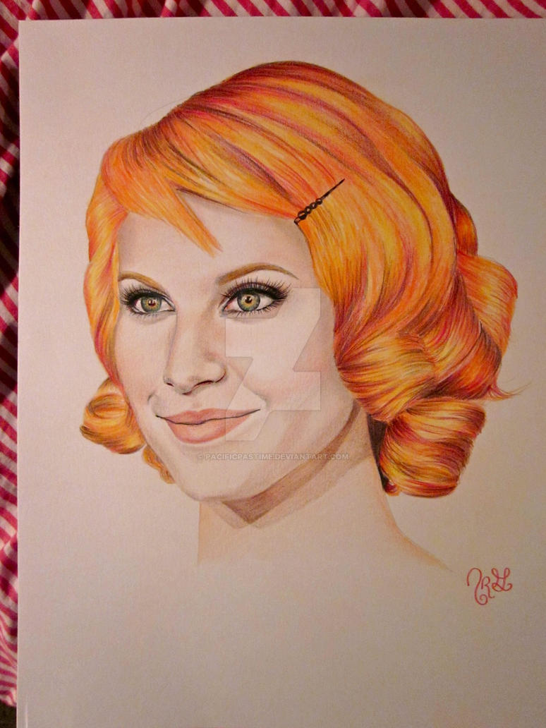 Hayley Williams of PARAMORE by pacificpastime