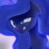 Angry Luna sketch