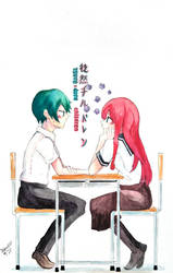 Furuya and Minagawa by Debboiii