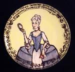Rococo Corset Plate