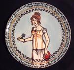 Regency corset plate