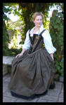 Elizabethan Gown WIP