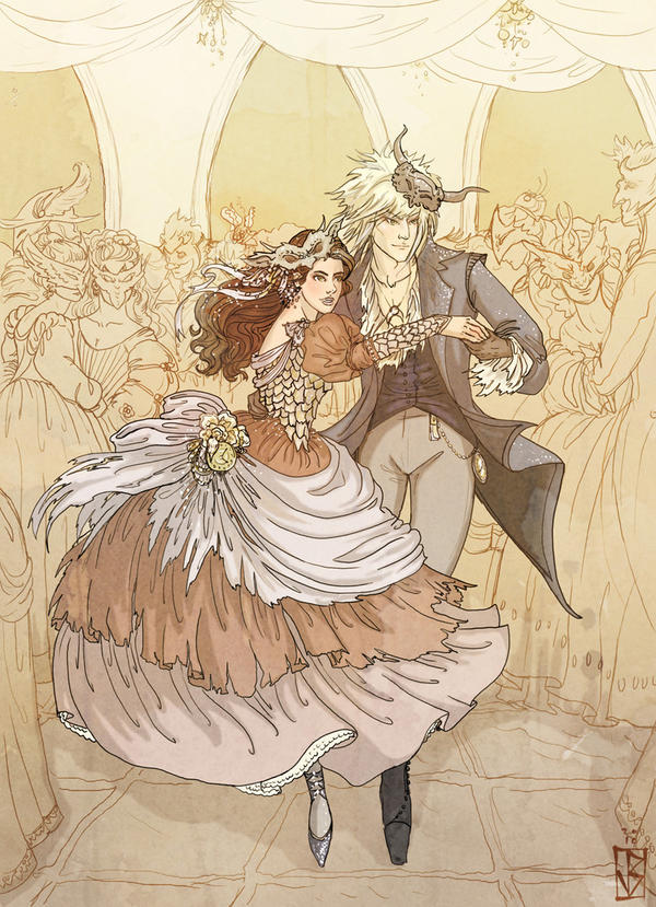 Labyrinth: The Royal Waltz by janey-jane on DeviantArt Labyrinth 1986 Wallpaper