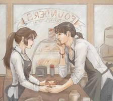Froth: Miroku + Sango by janey-jane