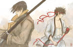 Aoshi and Sano