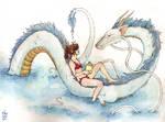 Spirited Away: swimmingly