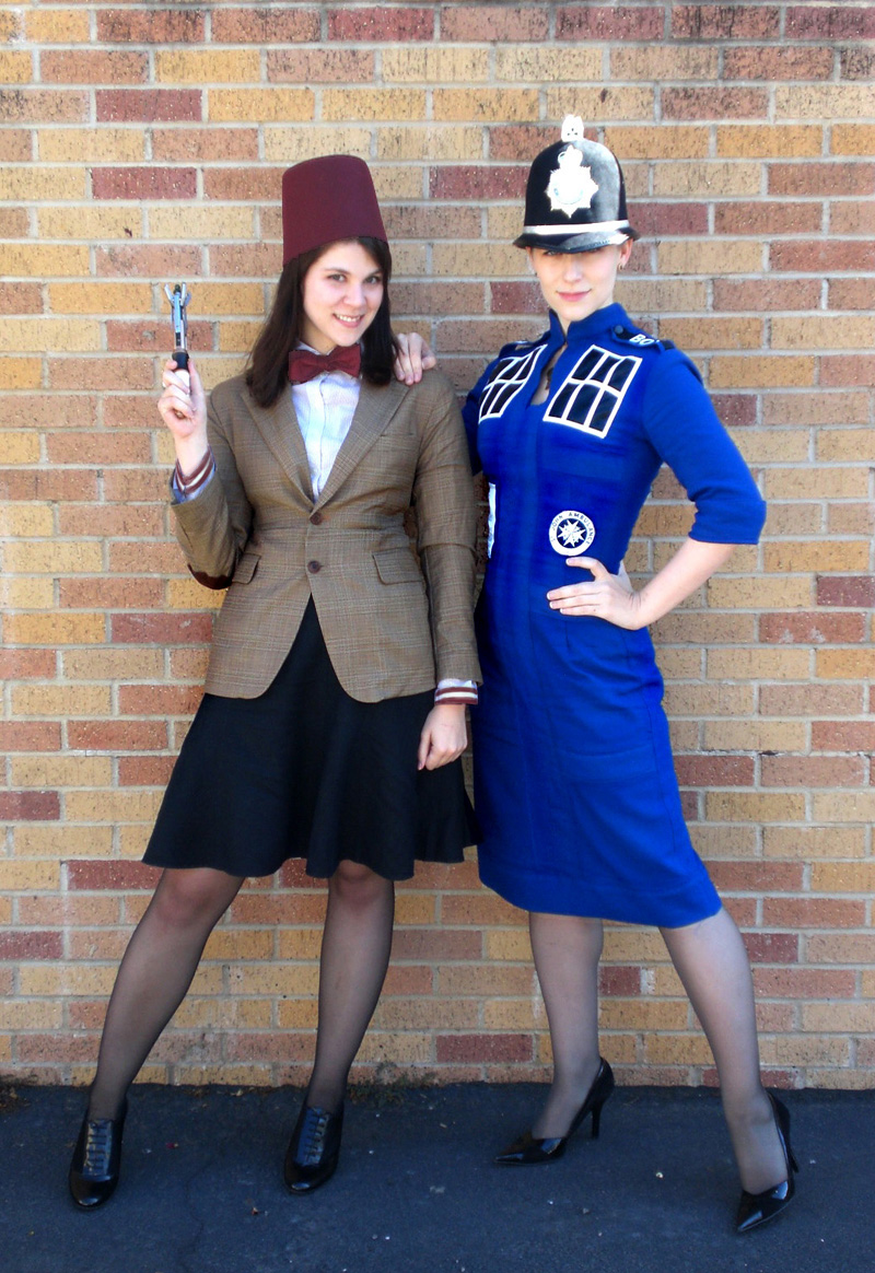 Eleven and TARDIS costumes