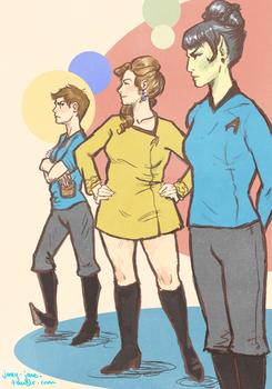 Triumvirate Lady Trek