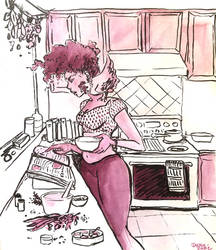 Kitchen Witch by janey-jane