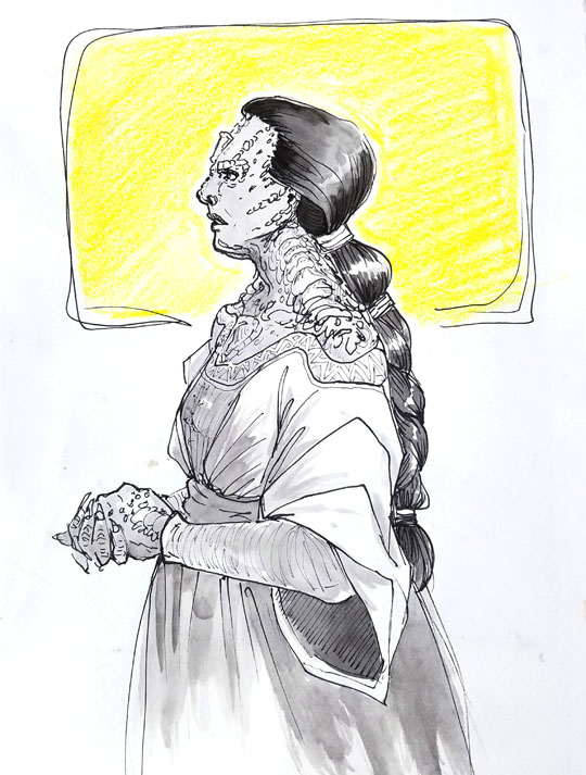 Cardassian lady by janey-jane