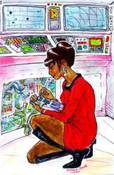 Lieutenant Uhura by janey-jane