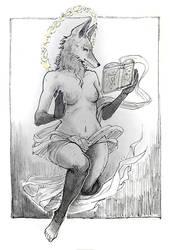 Witchfox by janey-jane