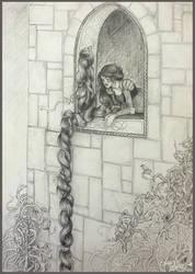 Rapunzel by janey-jane