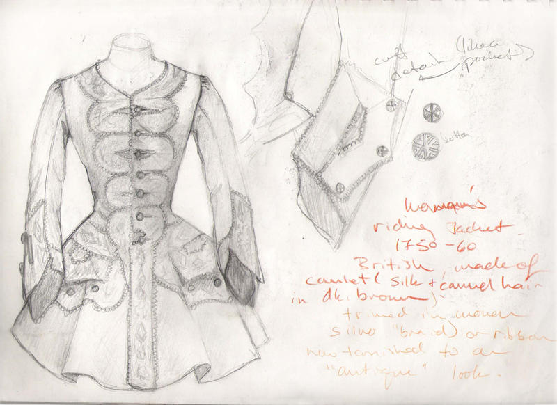 1750's Woman's riding jacket by janey-jane