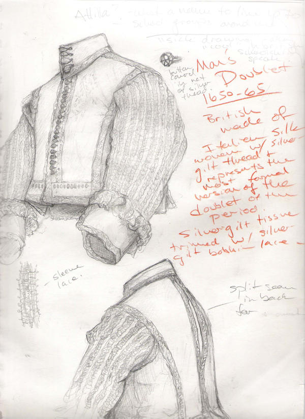 Man's Doublet 1650-65 by janey-jane