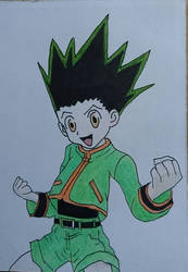 Gon Freecs again.  by ihughes24