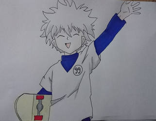 Killua 15 by ihughes24