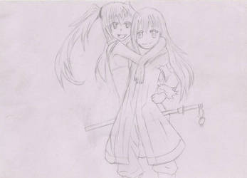 unfinished ( Rimaru and milim) by ihughes24