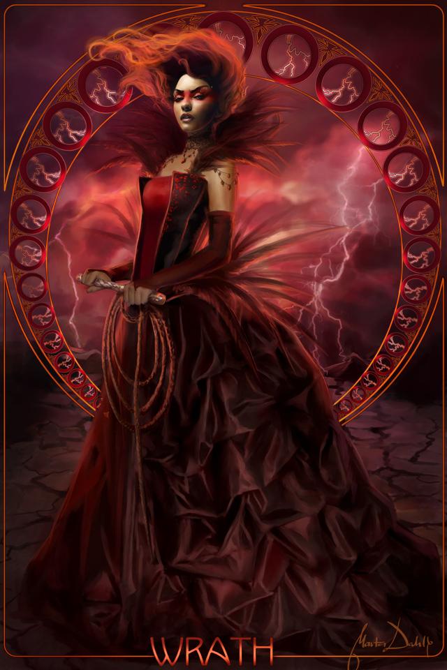 Seven Deadly Sins Psychedelico S Temperament