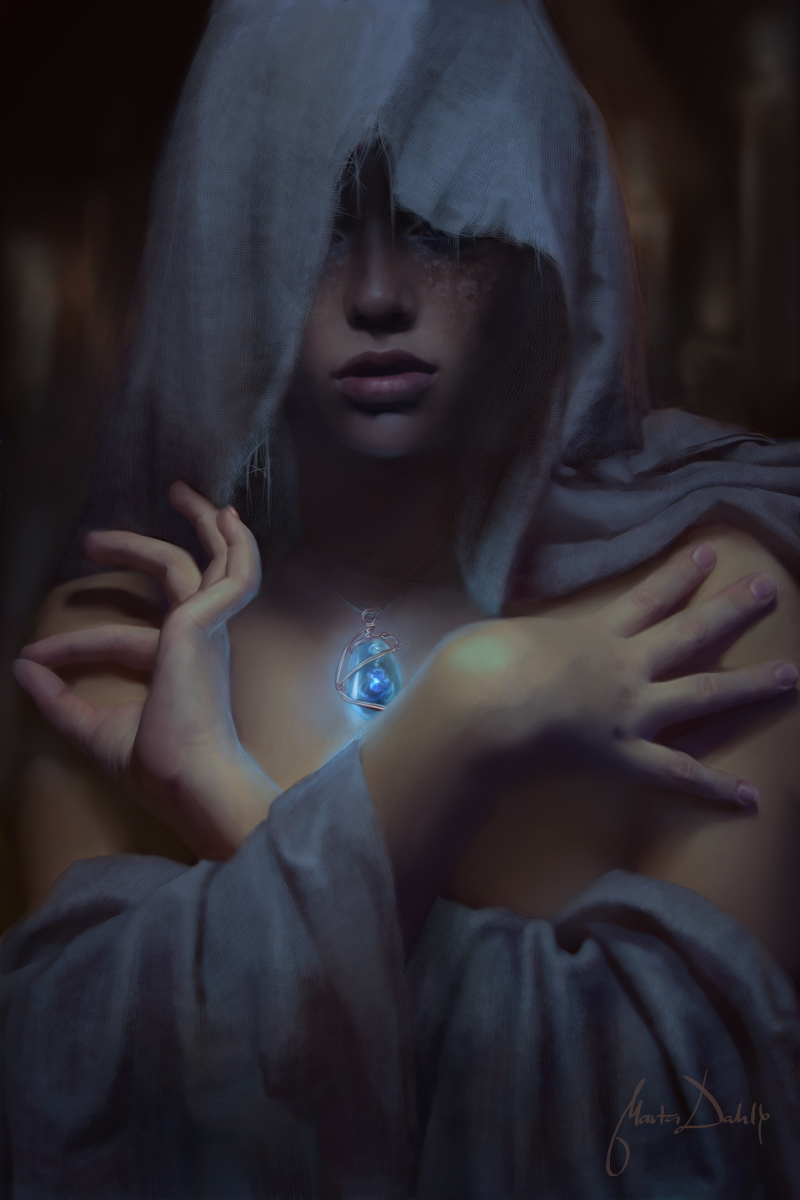 The Oracle by `blackeri(Deviant ID) The_Oracle_by_blackeri