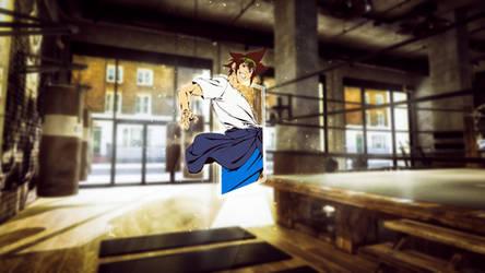 Jin Mo-Ri - The God Of High School (Wallpaper 3D)